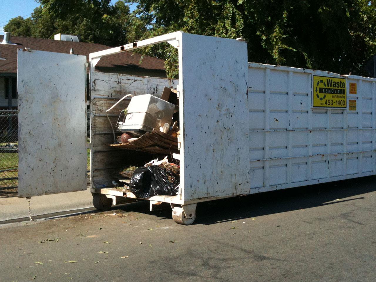 40 Yard Dumpster