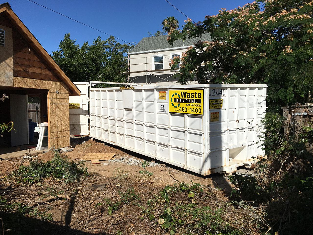 40 Yard Dumpster East Sacramento