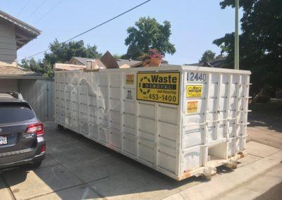 Sacramento 40-Yard Dumpster Rental