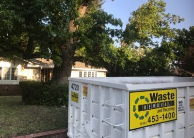 Sacramento 20-Yard Dumpster Rental
